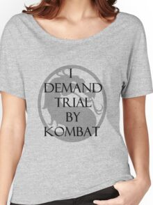 Trial by Kombat Women's Relaxed Fit T-Shirt