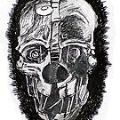 Skull mask design by ArtLuver