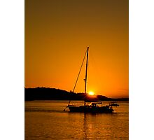 Nelson Bay Sunset No 1 Photographic Print