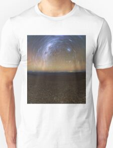Starry Night - Star Trails in the Night Sky T-Shirt