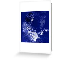 RORY GALLAGHER BLUESMAN Greeting Card