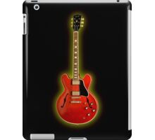 The red electric iPad Case/Skin