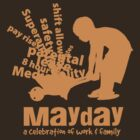 MayDay 2008: a celebration of work and family - Orange print by unionswa