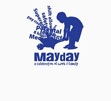 MayDay 2008: a celebration of work and family - Dark Blue print Unisex T-Shirt