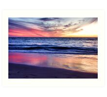Indian Ocean Sunset Art Print