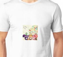 Mr. Squiggles and Friends Unisex T-Shirt
