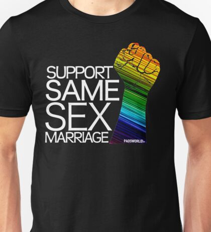 SAME SEX MARRIAGE Unisex T-Shirt
