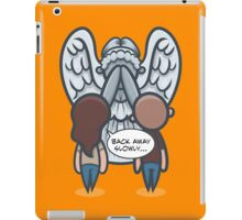 Back Away Slowly iPad Case/Skin