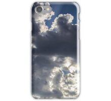 Clouds, sun burst #1 iPhone Case/Skin
