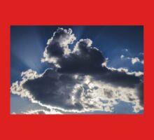 Clouds, sun burst #1 One Piece - Long Sleeve