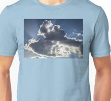 Clouds, sun burst #1 Unisex T-Shirt