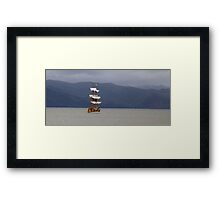 To Explore... Framed Print