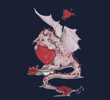 Kissy Dragon One Piece - Long Sleeve