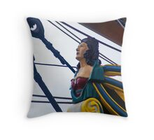 Hats Off T' Th' Lady, Gents! Throw Pillow