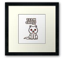 Team Ghost Framed Print