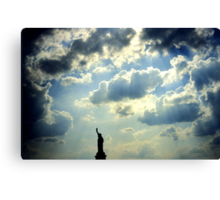 Statue of Liberty, New York Canvas Print