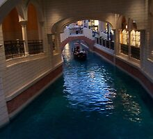 The Venetian Hotel Casino..Inside Canal by judygal