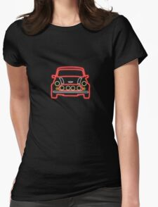 Mini Glow T Shirt - Red Womens Fitted T-Shirt