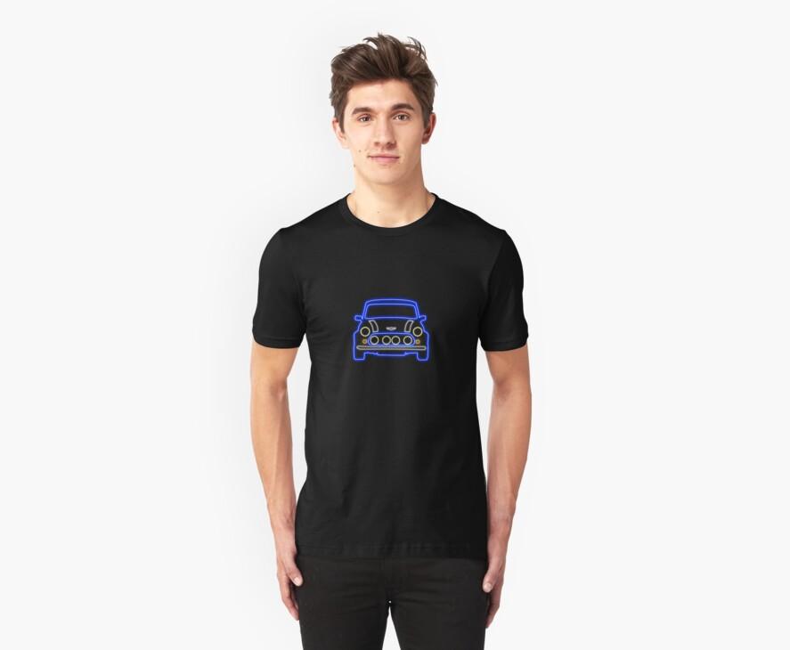 Mini Glow T Shirt - Blue by Pinhead Industries