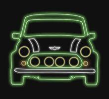Mini Glow T Shirt - Green by Pinhead Industries