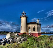 Coquille River Lighthouse by Thom Zehrfeld