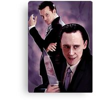 Lokiarty Canvas Print