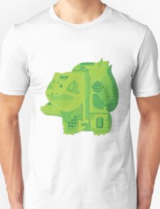 bulbasaur cool design old school pokemon T-Shirt
