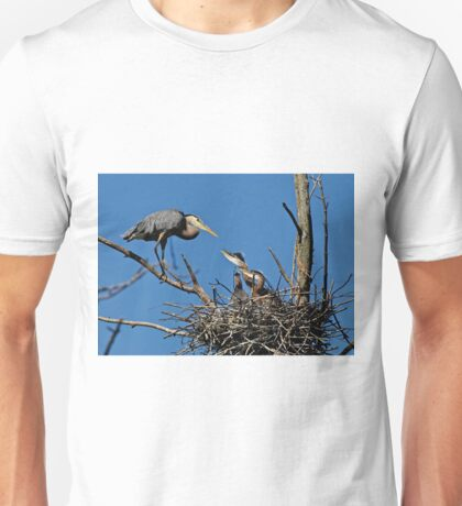Great Blue Heron with Babies - Ottawa, Ontario T-Shirt