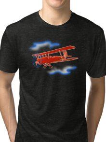 red baron clouds Tri-blend T-Shirt