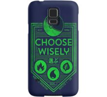 pokemon choose wisely Samsung Galaxy Case/Skin