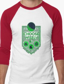 pokemon choose wisely Men's Baseball ¾ T-Shirt