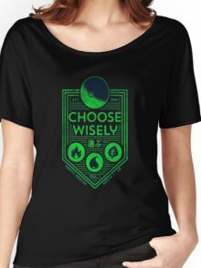 pokemon choose wisely Women's Relaxed Fit T-Shirt