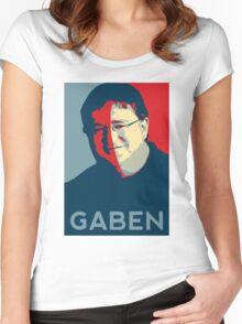 GABEN Women's Fitted Scoop T-Shirt