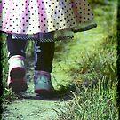 Polka Dots and Sneakers by kaneko