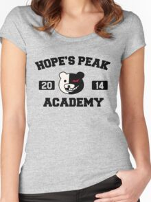 Hopes peak academy tee Women's Fitted Scoop T-Shirt