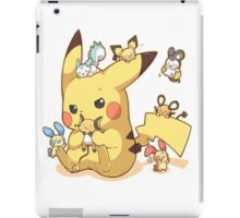 pikachu electric rodents iPad Case/Skin