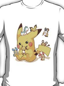 pikachu electric rodents T-Shirt