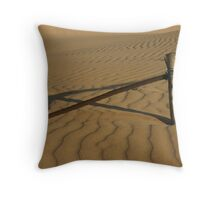 Invading Dune Throw Pillow
