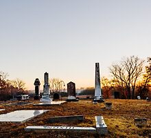 Cemetary Sunrise by Jim Haley