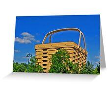 Longaberger Basket Office Building Greeting Card