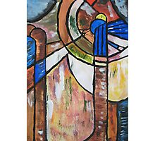 Stained Glass Abstact! Photographic Print