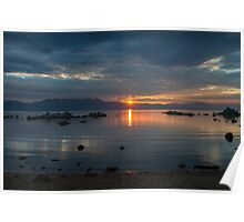 Sunset Zephyr Cove  Poster