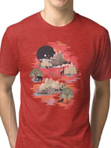 Landscape of Dreams Tri-blend T-Shirt