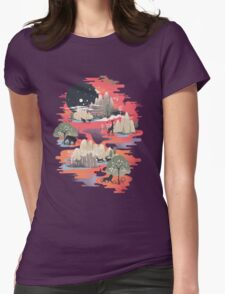 Landscape of Dreams Womens Fitted T-Shirt