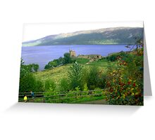 Loch Ness And Castle Greeting Card
