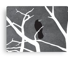 Gray Day Canvas Print