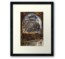 Abram Miles Framed Print