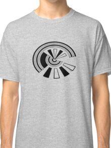Mandala 15 Back In Black Classic T-Shirt