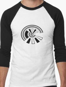 Mandala 15 Back In Black Men's Baseball ¾ T-Shirt