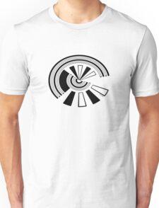Mandala 15 Back In Black Unisex T-Shirt